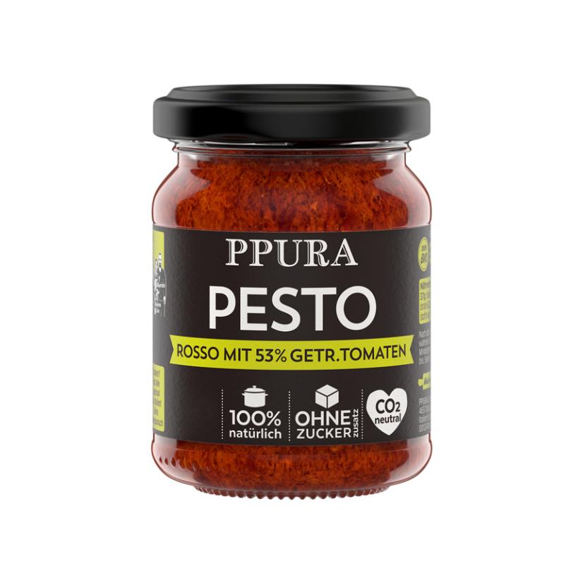 Pesto Salentini Tomaten und Parmesan 120 g (BIO)
