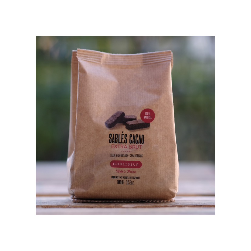 Sablés cacao 100 g