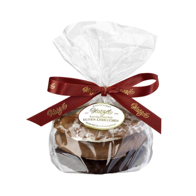 3 Stück Elisen-Lebkuchen gemischt 175 g