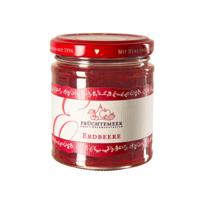 Erdbeere-Rhabarber Fruchtaufstrich 210 g