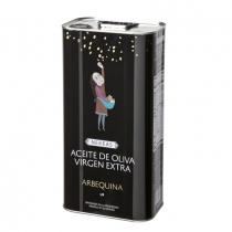 Aceite de Oliva virgen extra Arbequina 5,0 Liter