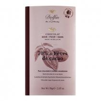 Zartbitterschokolade mit Kakaosplittern 70 g